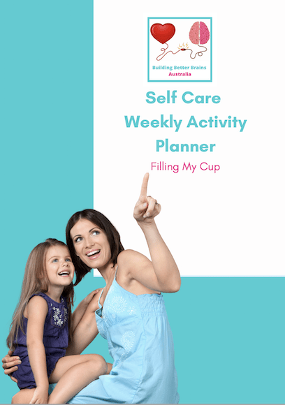 self care activity planner