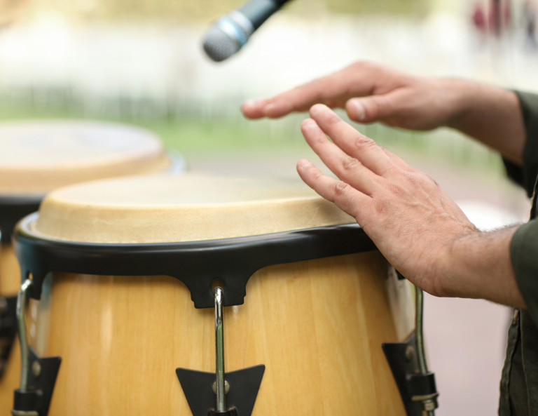 Regulation Through Rhythm Drum Therapy Group for Men