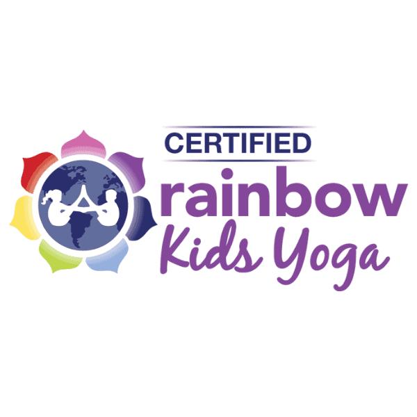 Certified Rainbow Kids Yoga Logo
