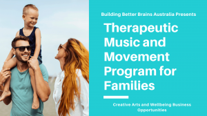 Therapeutic Music and Movement Program for Families
