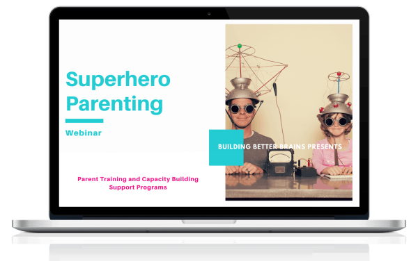Superhero Parenting (Dad Edition) by Building Better Brains Australia - Course Cover Photo