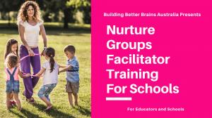 Nurture Group Facilitator Training for Schools